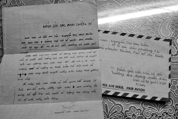 Hồi ức ngày 14-3 - Kỳ 3: Những lá thư từ hậu phương - Ảnh 4.