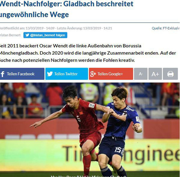 Đại gia của Bundesliga muốn chiêu mộ Đoàn Văn Hậu - Ảnh 1.