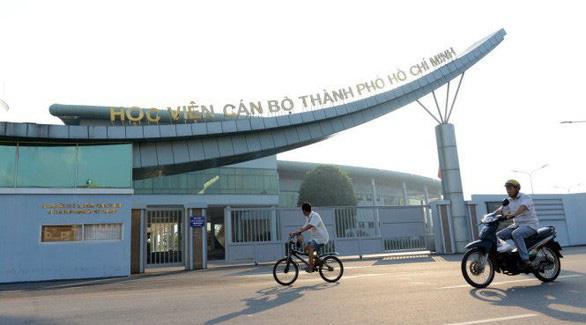 Xử lý sai phạm gói thầu KTX Học viện Cán bộ TP.HCM trong tháng 3 - Ảnh 1.