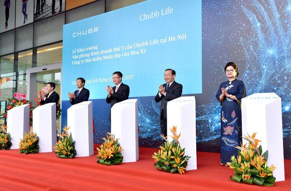 Chubb Life Việt Nam khai trương văn phòng kinh doanh thứ 3 tại Hà Nội - Ảnh 1.