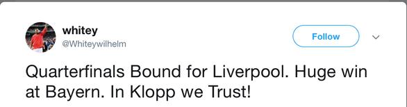 Sau chiến thắng B.M, CĐV Liverpool ca ngợi Klopp tưng bừng - Ảnh 5.