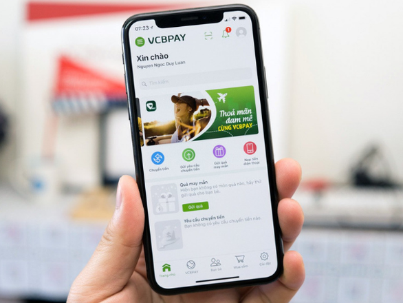 4 trải nghiệm với dịch vụ ngân hàng điện tử của Vietcombank - Ảnh 2.