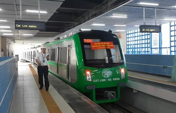 Đường sắt Cát Linh - Hà Đông chưa chốt được ngày về đích - Ảnh 1.