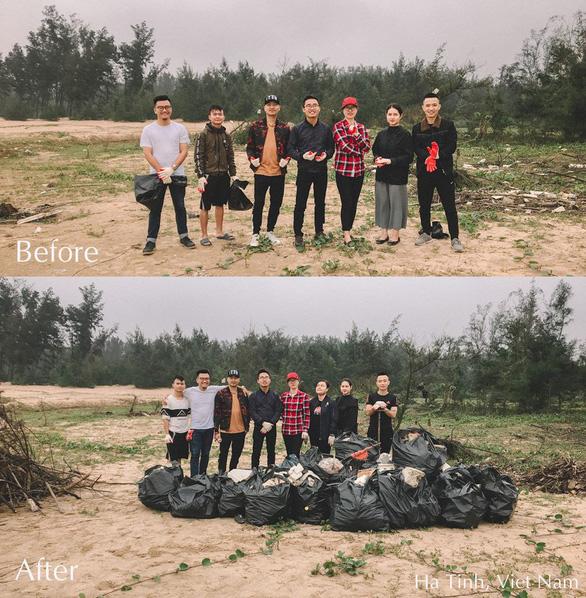 Trào lưu dọn rác lan rộng từ Nam chí Bắc - Ảnh 5.