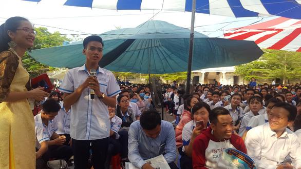 Học sinh Cà Mau muốn ra trường về phục vụ tỉnh nhà - Ảnh 3.