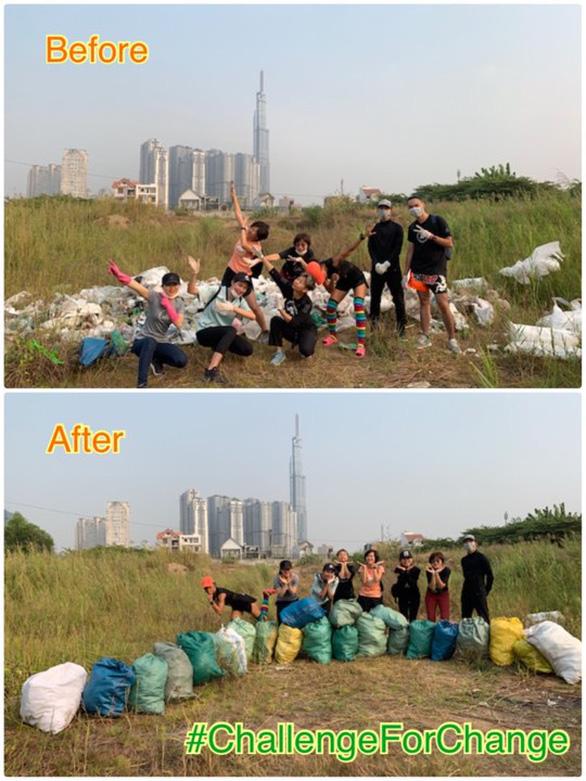 Trào lưu dọn rác lan rộng từ Nam chí Bắc - Ảnh 1.