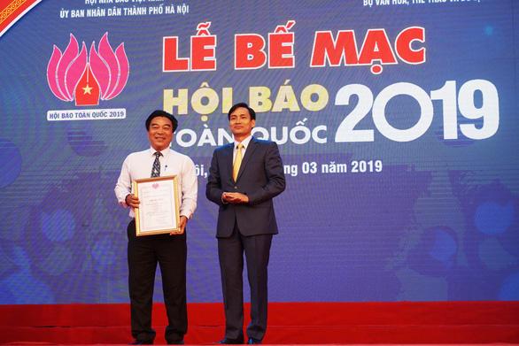 Báo Tuổi Trẻ đoạt giải bìa báo Tết đẹp tại Hội báo toàn quốc - Ảnh 2.