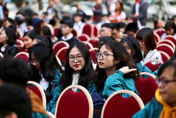 Hàng vạn học sinh dự Ngày hội tư vấn tuyển sinh quy mô nhất từ trước đến nay - Ảnh 13.