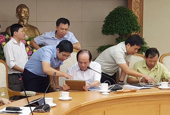 Bộ trưởng Mai Tiến Dũng: Tôi dứt khoát không ký tay, cán bộ không dám trình giấy - Ảnh 3.