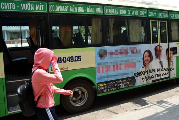 TP.HCM quảng cáo trên xe buýt: kiếm tiền tỉ còn... ì ạch - Ảnh 4.