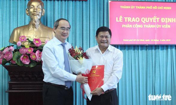 Ông Huỳnh Cách Mạng làm phó trưởng Ban tổ chức Thành ủy TP.HCM - Ảnh 1.