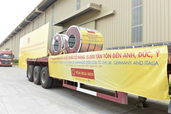 Doanh nghiệp thép Việt vượt khó, mở rộng thị trường ra quốc tế - Ảnh 4.