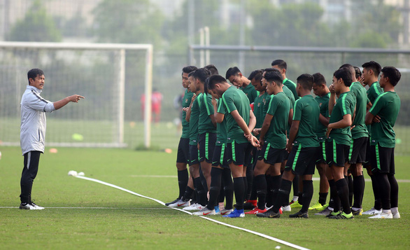 U-23 Indonesia tập cách đá bại Thái Lan và Việt Nam - Ảnh 1.