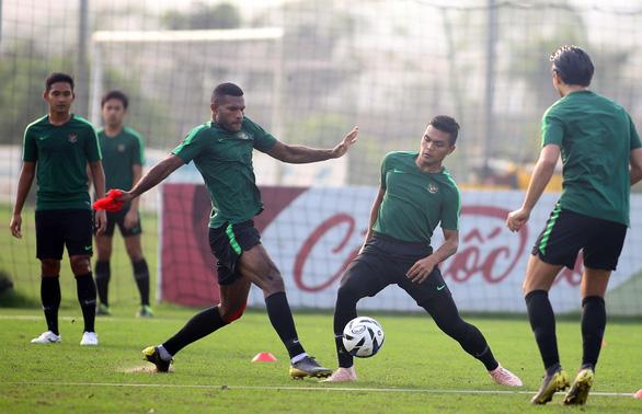 U-23 Indonesia tập cách đá bại Thái Lan và Việt Nam - Ảnh 4.
