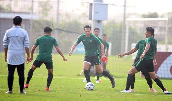 U-23 Indonesia tập cách đá bại Thái Lan và Việt Nam - Ảnh 5.