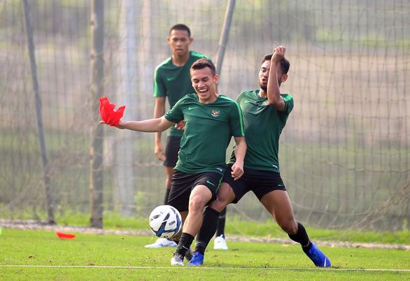 U-23 Indonesia tập cách đá bại Thái Lan và Việt Nam - Ảnh 7.