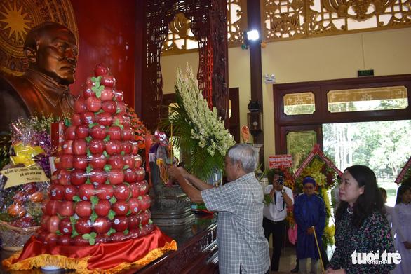 Lễ tưởng niệm 39 năm ngày mất Chủ tịch Tôn Đức Thắng - Ảnh 3.
