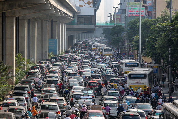 Metro Cát Linh - Hà Đông đáp ứng 60% nhu cầu của người dân trên tuyến - Ảnh 1.