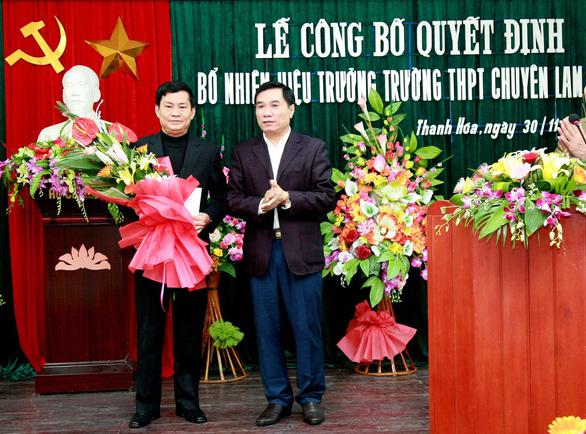 Hiệu trưởng Trường chuyên Lam Sơn không đứng lớp vẫn hưởng phụ cấp - Ảnh 2.