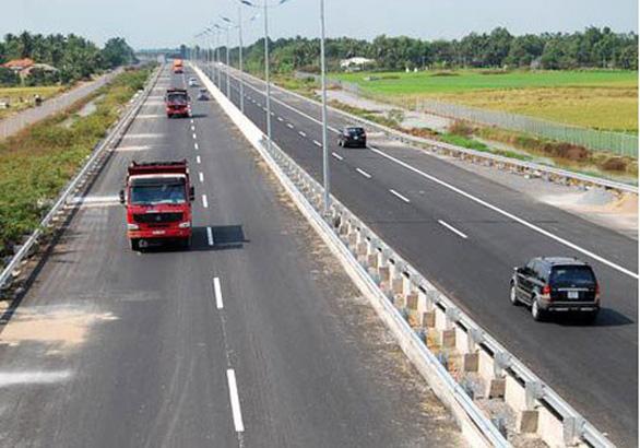 Thủ tướng đồng ý dùng ngân sách giải cứu  cao tốc BOT Trung Lương - Mỹ Thuận - Ảnh 1.