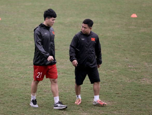 HLV Park Hang Seo kiên nhẫn chờ Đình Trọng trước khi chốt danh sách - Ảnh 1.