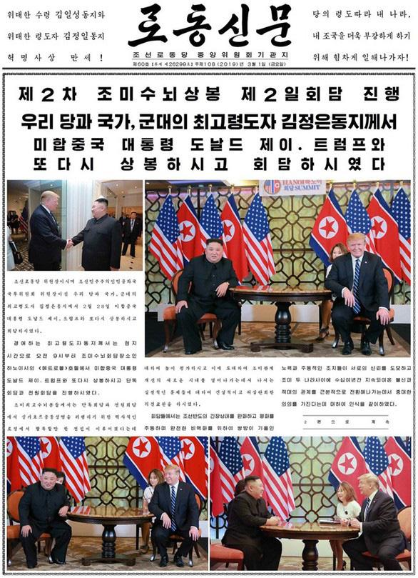 Thượng đỉnh Mỹ - Triều tại Hà Nội: Nền tảng quan trọng cho tương lai - Ảnh 1.