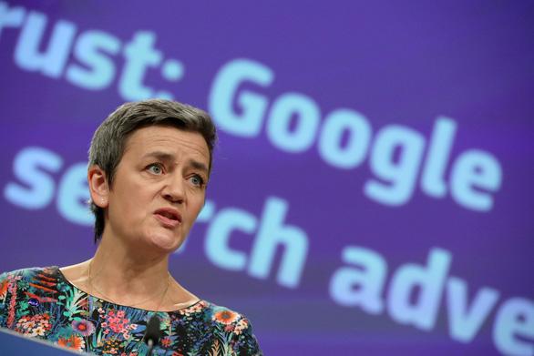 EU phạt Google 1,7 tỉ USD vì phạm luật chống độc quyền - Ảnh 1.