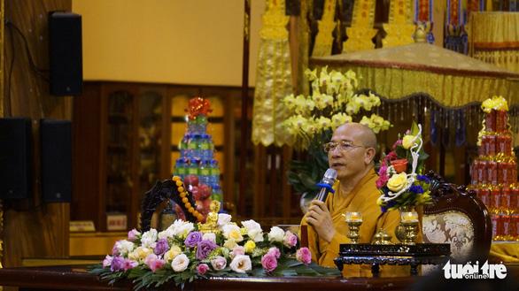 Trụ trì chùa Ba Vàng: Chùa lớn nên bị ghen ghét - Ảnh 1.