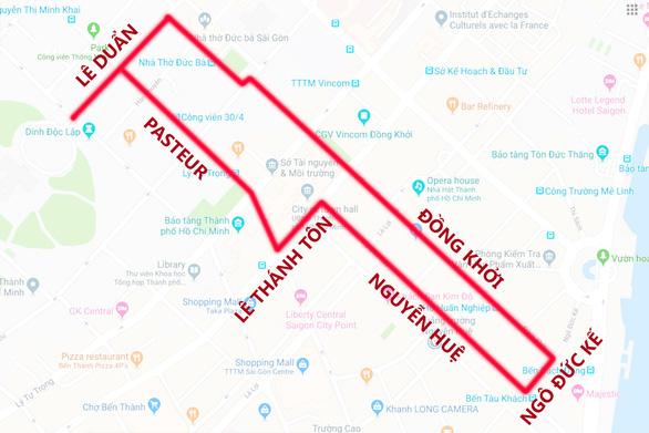 TP.HCM cấm xe nhiều đường để tổ chức Ngày chạy Olympic - Ảnh 1.