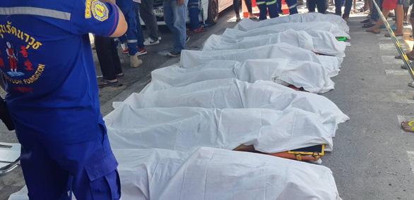 Xe khách gặp nạn ở Thái Lan, 5 người Việt tử vong - Ảnh 4.