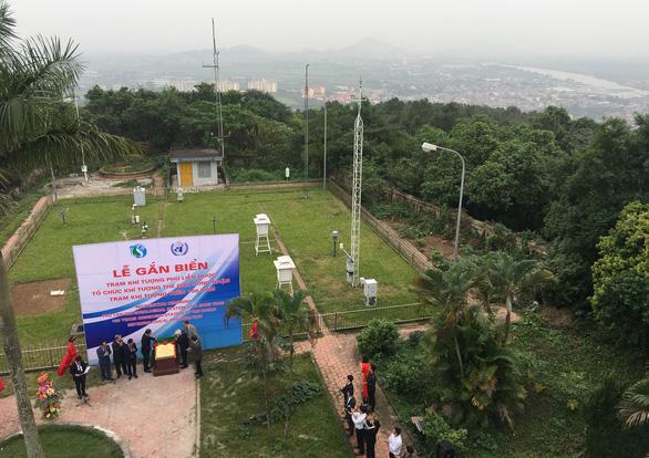 Quốc tế công nhận trạm khí tượng trên 100 năm ở Việt Nam - Ảnh 1.