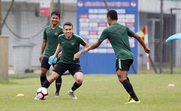 HLV U-23 Indonesia: Bài tập của chúng tôi chống lại sức mạnh đội chủ nhà - Ảnh 1.