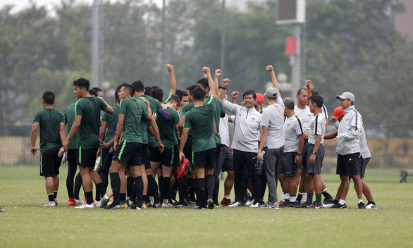 HLV U-23 Indonesia: Bài tập của chúng tôi chống lại sức mạnh đội chủ nhà - Ảnh 2.