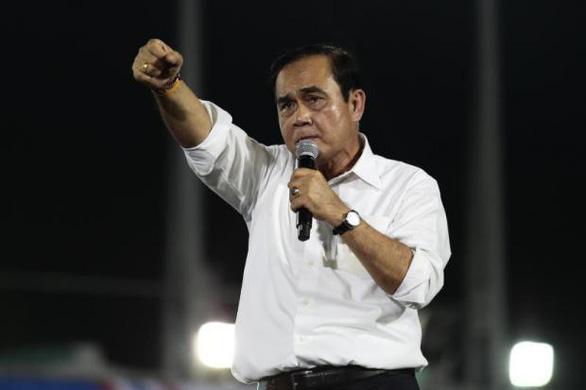 Trước ngày bầu cử, Thủ tướng Prayut thề xả thân vì đất nước - Ảnh 1.