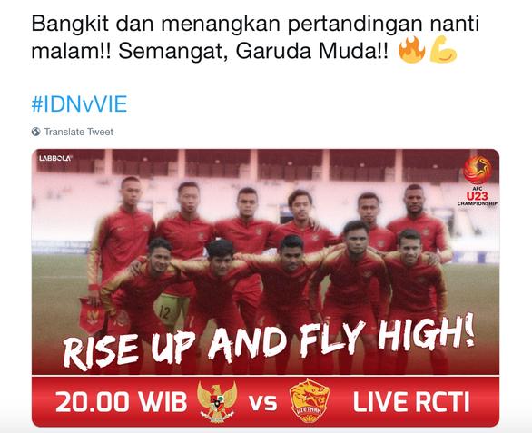 CĐV Indonesia tin đội nhà sẽ đánh bại U-23 Việt Nam - Ảnh 1.
