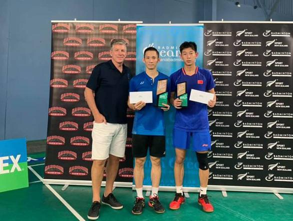 Đánh bại tay vợt Trung Quốc, Tiến Minh vô địch tại New Zealand - Ảnh 1.