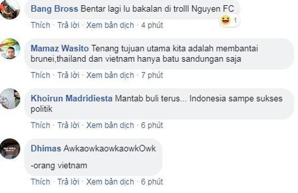 Đội nhà bít cửa, CĐV Indonesia trù ẻo Việt Nam thua Thái Lan - Ảnh 2.