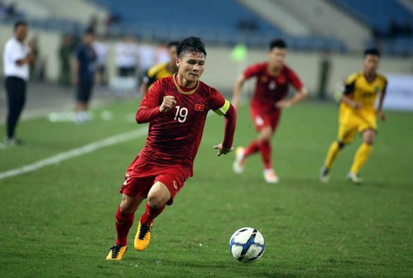 Quang Hải đá chính trận gặp U23 Indonesia tối nay - Ảnh 1.
