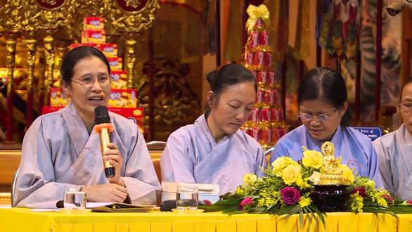 Bà Phạm Thị Yến lộng ngôn về tín ngưỡng thờ Mẫu - Ảnh 1.