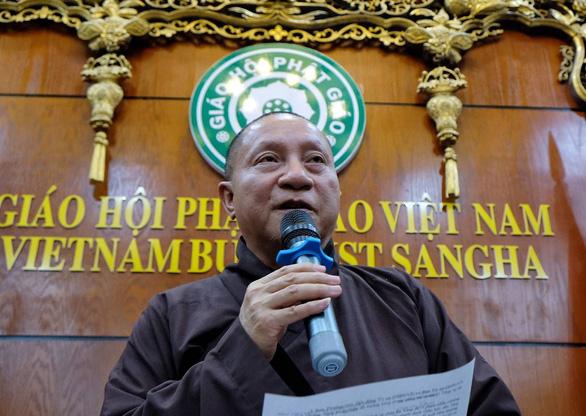 Đề xuất tạm đình chỉ tất cả chức vụ với Đại đức Thích Trúc Thái Minh - Ảnh 1.