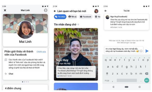 Việt Nam là 1 trong 2 nước đầu tiên Facebook thử nghiệm 'gặp gỡ bạn mới' - Ảnh 1.