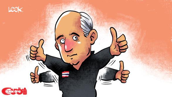 Biếm họa Hà Đức Chinh và chiến thắng trước U23 Thái Lan - Ảnh 2.