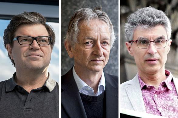 Ba nhà tiên phong về trí tuệ nhân tạo chia nhau 1 triệu USD giải Turing - Ảnh 1.