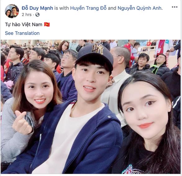 Các cầu thủ U23 Việt Nam viết gì lên Facebook sau trận thắng Thái Lan? - Ảnh 6.