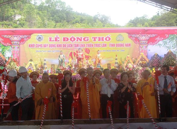 Ba Vàng từng khởi công xây chùa ở Quảng Nam rồi… mất hút - Ảnh 2.