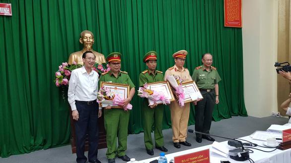 4 người Đài Loan cầm đầu đường dây 900 bánh heroin ở An Sương - Ảnh 1.