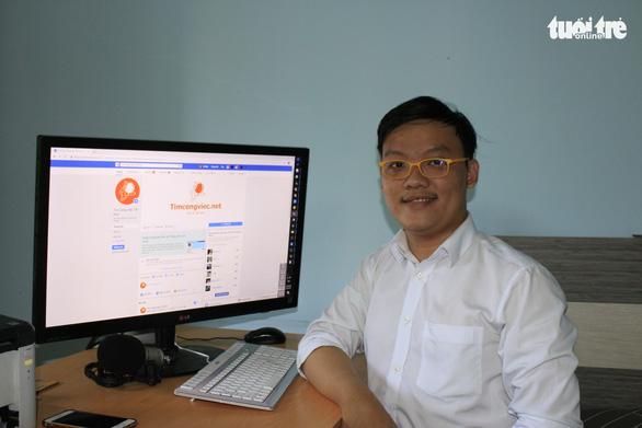 Khởi nghiệp với web tuyển dụng, thu trăm triệu mỗi tháng - Ảnh 1.