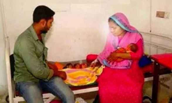 Bà mẹ Bangladesh trong một tháng sinh con hai lần, được 3 đứa trẻ - Ảnh 1.