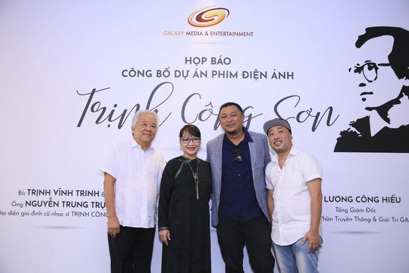 Phan Gia Nhật Linh, Nguyễn Quang Dũng làm phim về nhạc sĩ Trịnh Công Sơn - Ảnh 1.