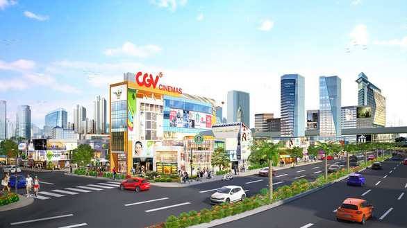 Xuất hiện đô thị thương mại ngay cửa ngõ sân bay Long Thành - Ảnh 1.